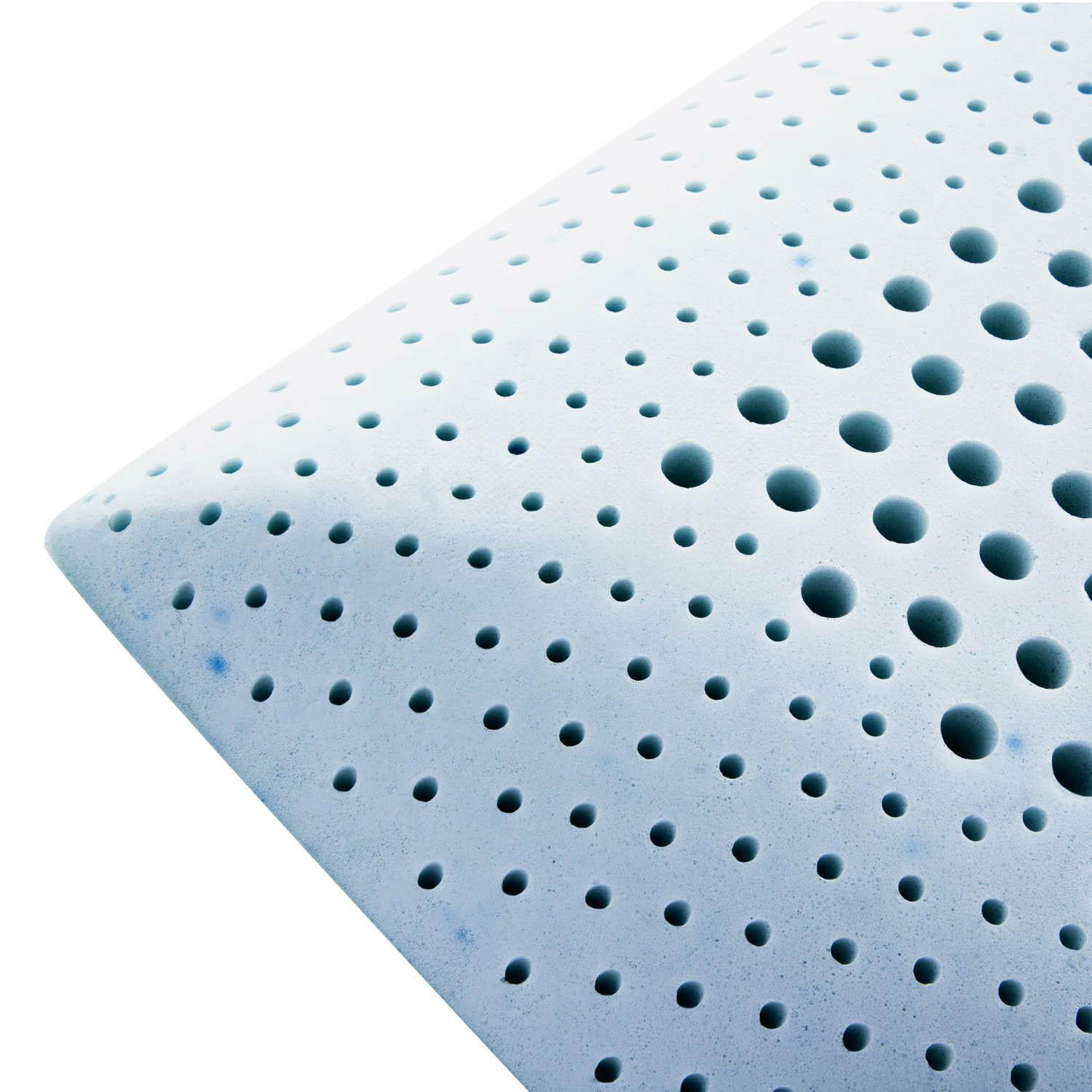 Modern Sleep Talalay Latex Pillow : Zoned Gel Talalay Latex (Queen // High Loft // Plush) - Malouf - Touch of Modern