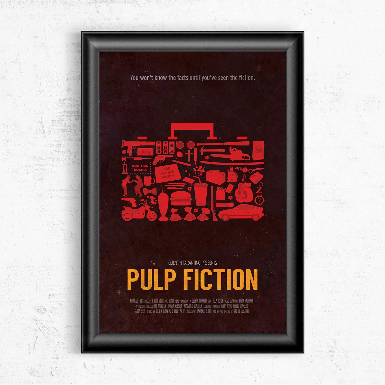 Pulp Fiction 16W X 20H