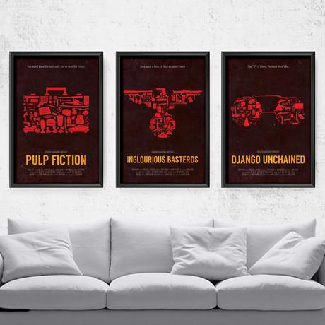 """Tarantino Film Series (11""""W x 14""""H)"""