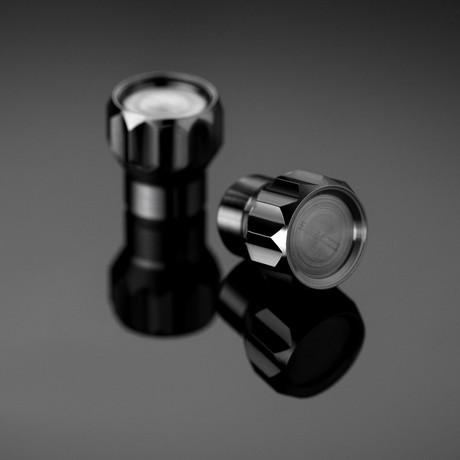 Coeus // 4 Titanium Valve Caps // Car