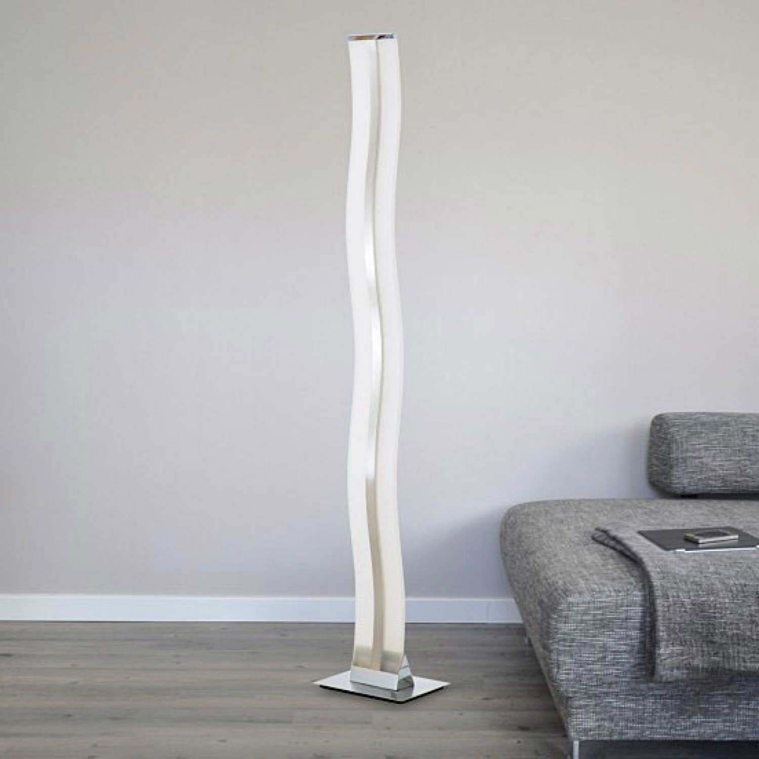 River i led floor lamp contempo lights touch of modern river i led floor lamp aloadofball Images