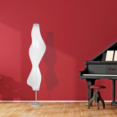 "Silhouette Floor Lamp // 74"""