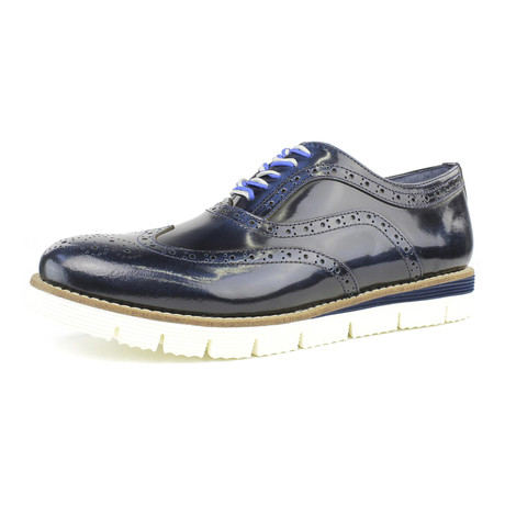 Joy Raised Oxford // Blue (US: 7)