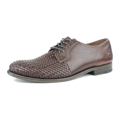 Fancy Weave Lace-Up // Brown (US: 7)