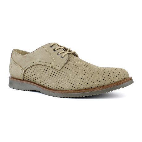Anger Textured Oxford // Sand