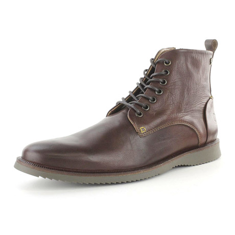 Anger Lace-Up Boot  //  Mahogany (US: 7)