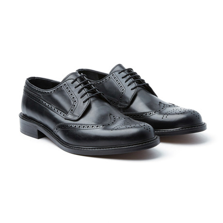Classic Brogue Derby // Black