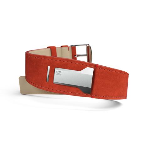 Klokers Bracelet Strap // Orange Alcantara