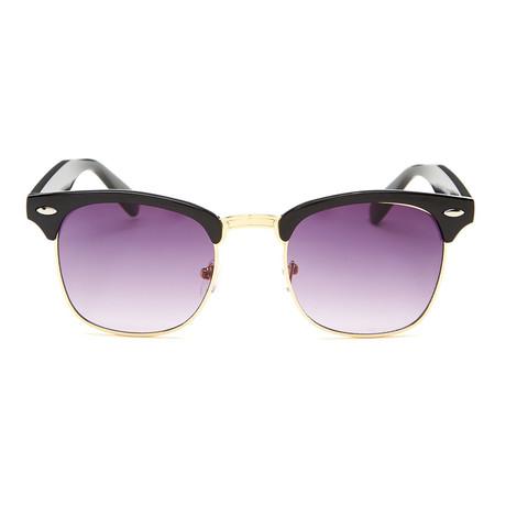 Hamilton // Black (Purple + Grey)