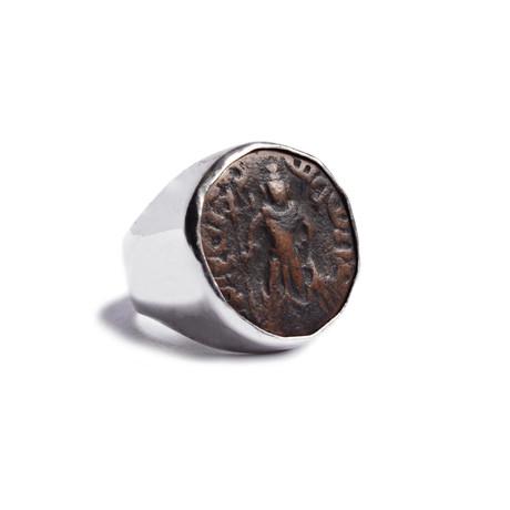 Yaudheya Rebublic Silver Ring // God of Victory