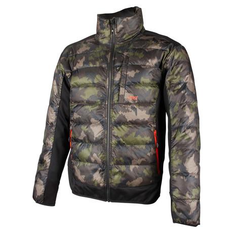 Kody Down Hybrid Jacket // Camo