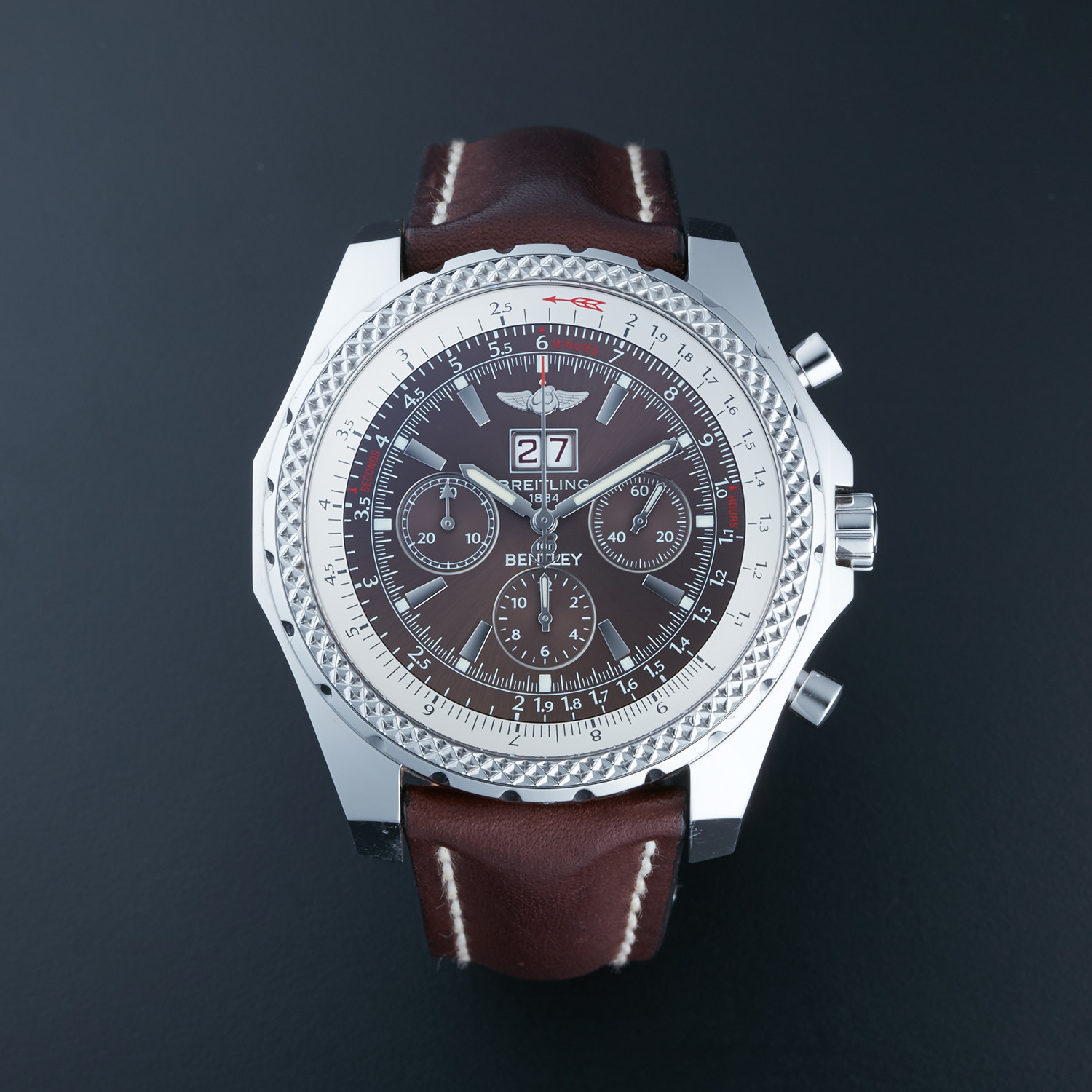 Breitling Bentley 6.75 Automatic // A44362 // Pre-Owned