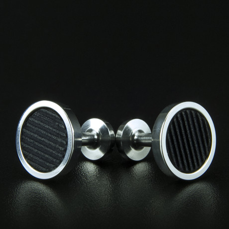 Lockstone One Range Cufflinks // Stainless Steel