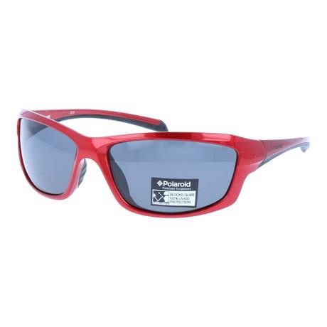 AlfieSunglasses + Polarized Lenses // Red
