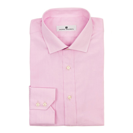 Pierre Balmain // Dress Shirt // Pink