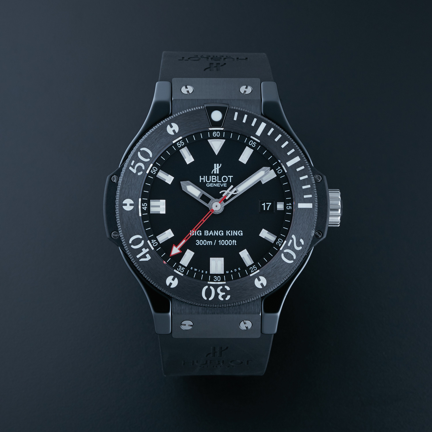 Hublot Ceramic Big Bang King Black Magic Automatic 312 Cm 1120 Rx Hublot Touch Of Modern