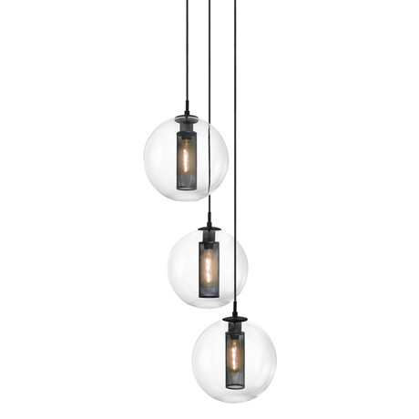 Tribeca 3 Light Cluster Pendant