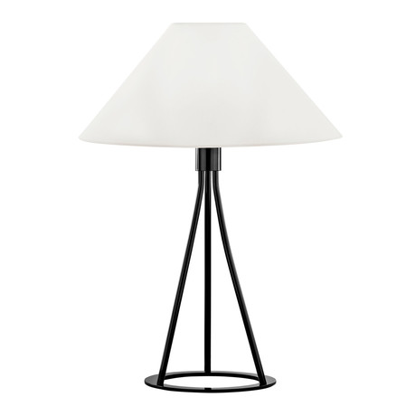 Tetra Table Lamp (Black + White)