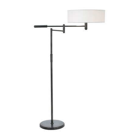 Perno Floor Lamp (Black Brass Finish)