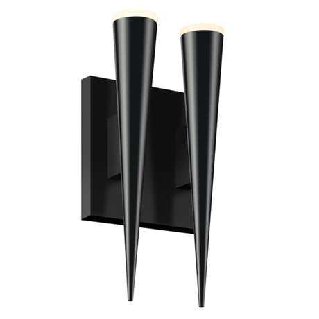 Micro Cone LED Double Cone Wall Sconce