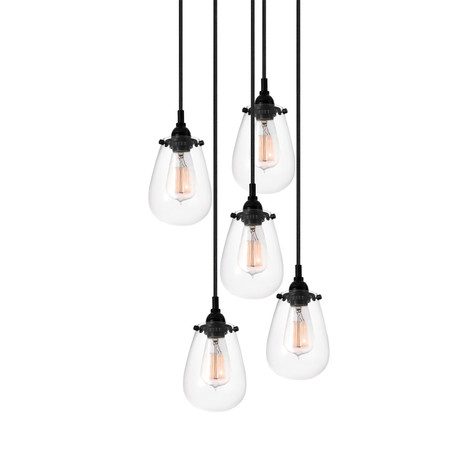 Chelsea 5 Light Cluster Pendant