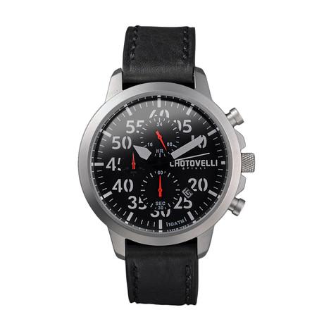 Chotovelli Airliner Jts Aviation Chronograph Quartz // 3300-11