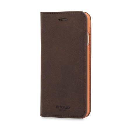 iPhone Leather Folio // Brown