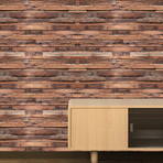 Flexiplus Timber Strips // Wall Sticker // Set of 4