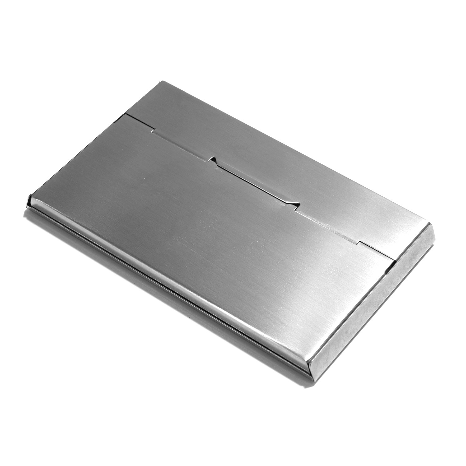 Serve Business Card Case (Hairline) - Claustrum - Touch of Modern