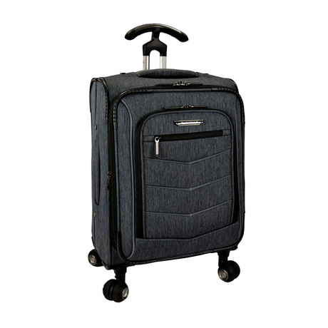 Silverwood Softside Spinner Luggage // Grey