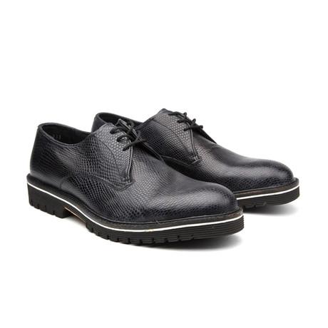 Capo Vestir Lace Up Shoes // Black + Grey