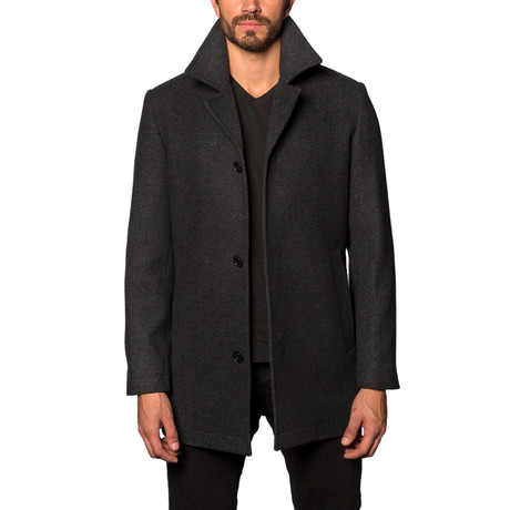 American Cashmere Blend Overcoat // Charcoal