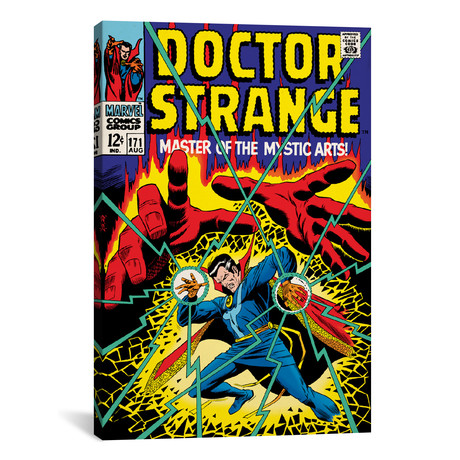 "Doctor Strange, Issue #171 Cover (18""W x 26""H x 0.75""D)"