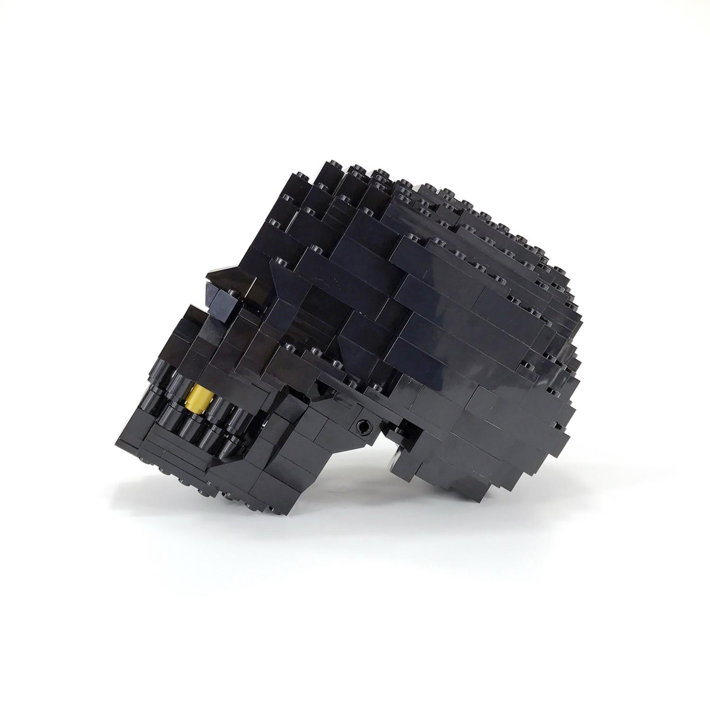 lego human skull instructions