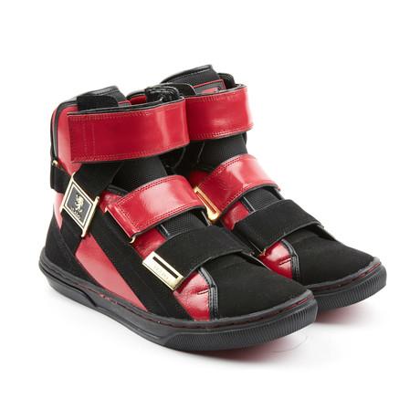 Aristocrat 2 High-Top Sneaker // Red + Black (US: 7)