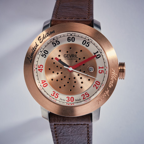 Gevril Alberto Ascari Automatic // Limited Collection // 1101