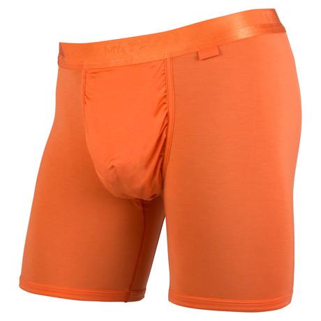 Weekend Boxer-Brief // Monochrome High-Vis Orange