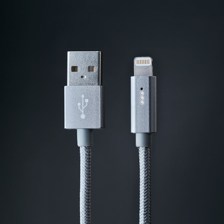 Edge Industry // Polaris Smart LED Lightning Cable // Space Gray