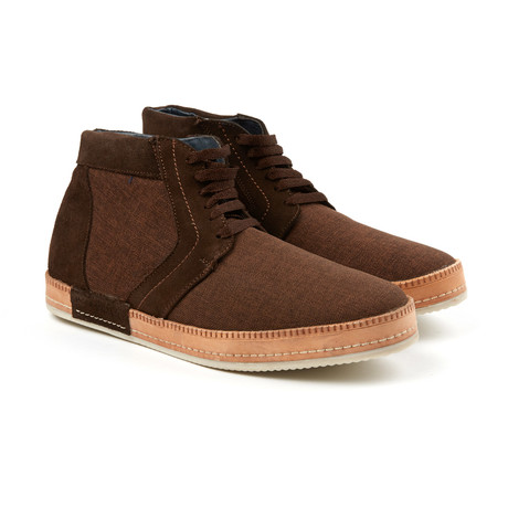 Lace-Up Sneaker // Brown (US: 6)