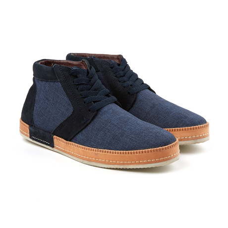 Lace-up Sneaker Boot // Navy (US: 6)