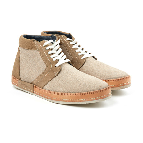 Lace-Up Sneaker // Sand (US: 6)