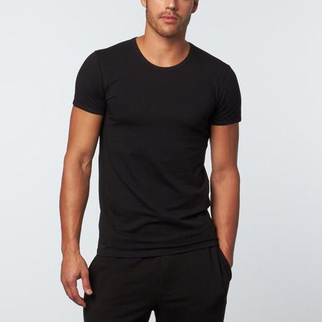 Versace // Crew Neck T-Shirt // Black (XS)