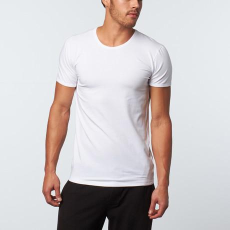 Versace // Crew Neck T-Shirt // White (XS)