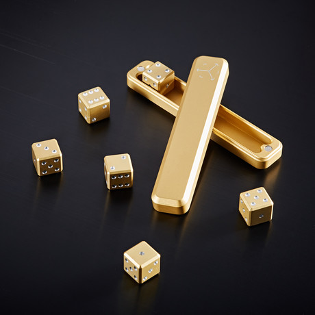 High Roller Set // Gold (Dice Only)
