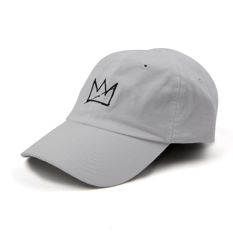 d5bbf2af300 04ce3d8d957f839e60c743e4055b670e medium · Crown Dad Hat    White