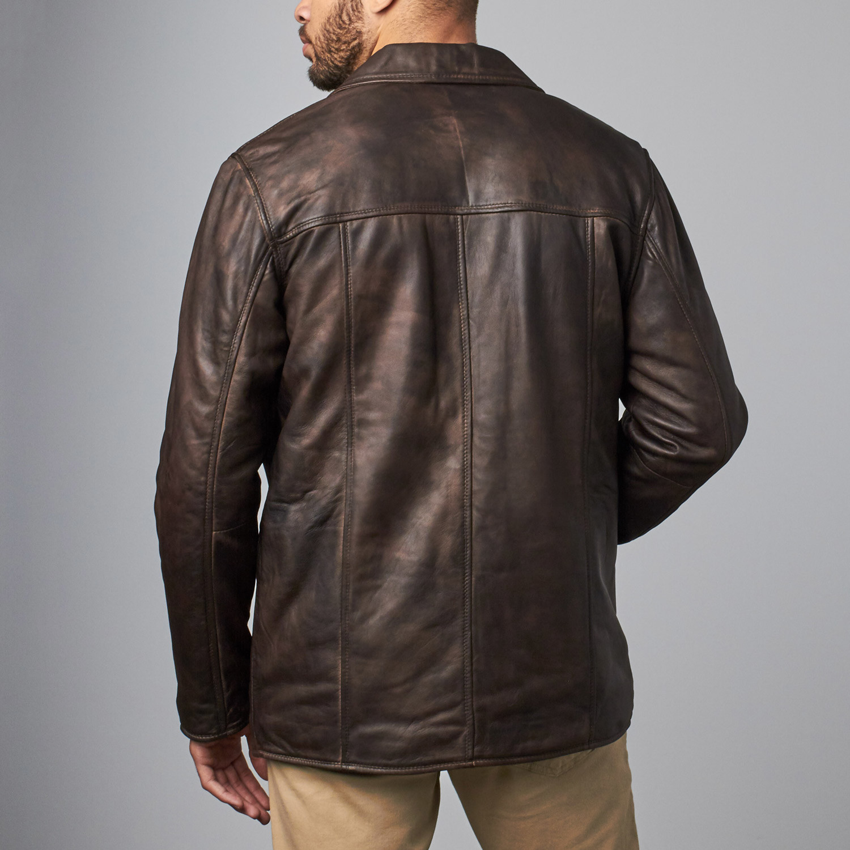 Leather jacket sales