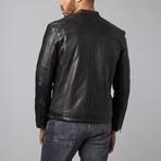 Ken Leather Jacket // Black (M)