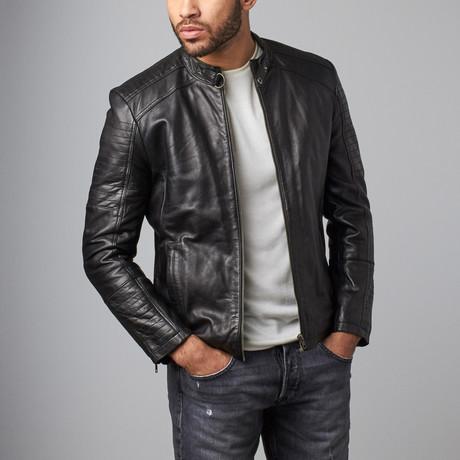 Ken Leather Jacket // Black (S)