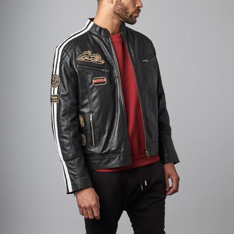 Logo Jacket // Black