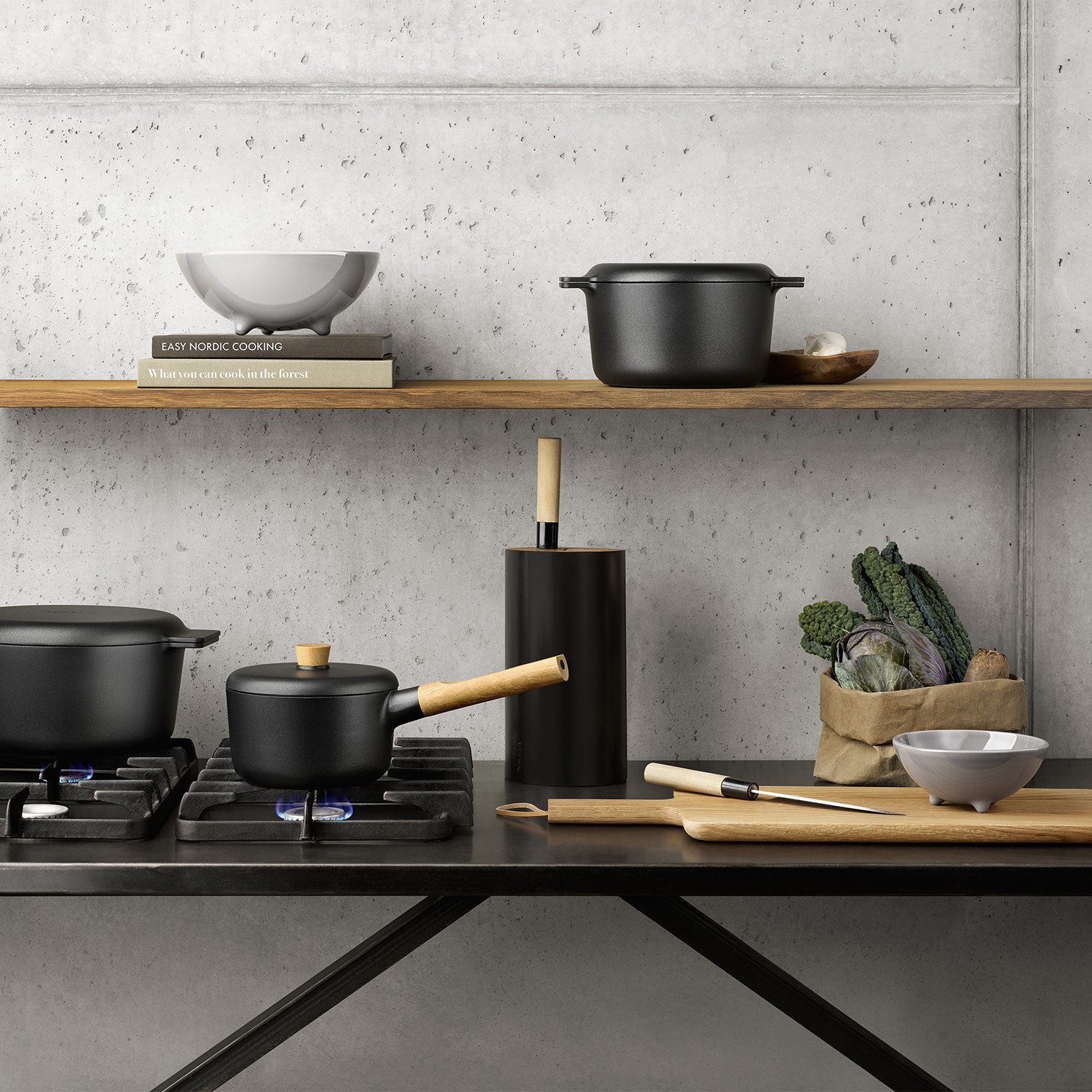 Nordic Kitchen Cookware // Pot (3.0L) - Eva Solo - Touch of Modern